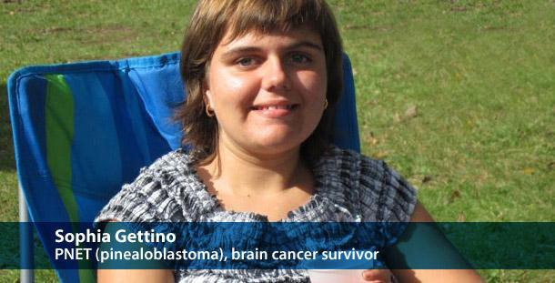 Sophia Gettino Pinealoblastoma Cured