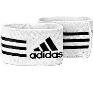 Adidas - fascette reggi parastinchi bianche