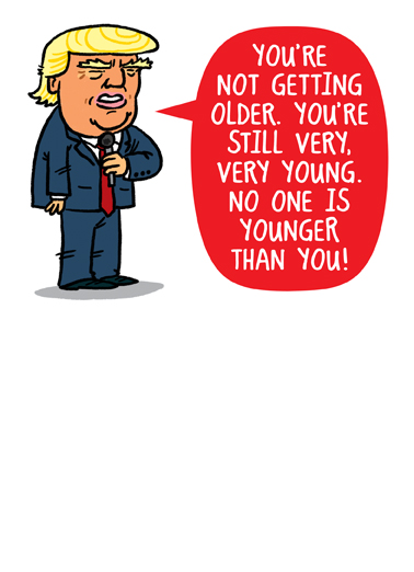 "Funny Birthday Ecard ""You're Not Old"" From CardFool Com"