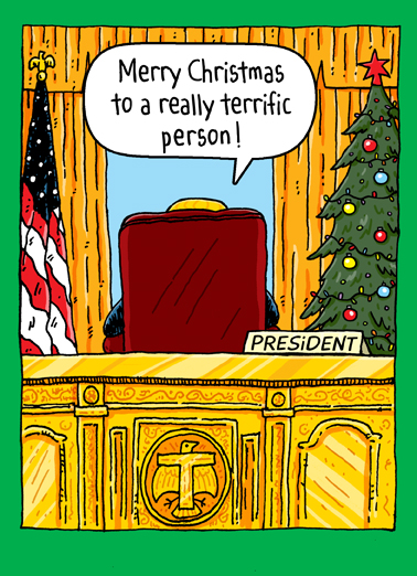 "Funny Christmas Card ""Christmas Oval Office"" From"
