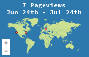Click the link to find the location of visitors to this page