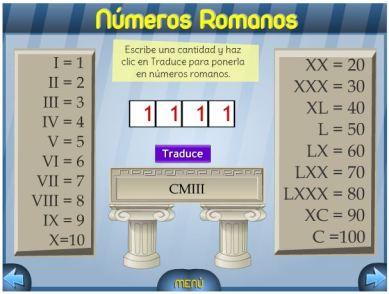 Aprende Y Juega Con Los Números Romanos Jiribillas