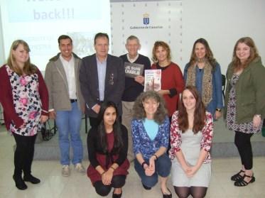 Alumnos de la Universidad Chichester en Lanzarote