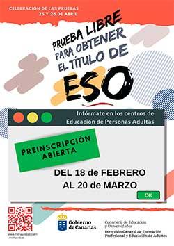 cartel prueba libre ESO 19