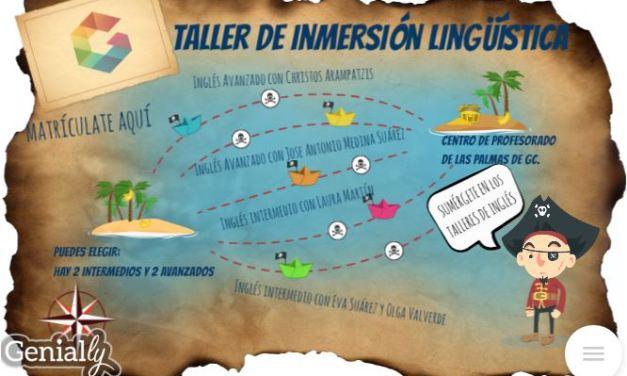 Talleres de inmersión lingüística en INGLÉS