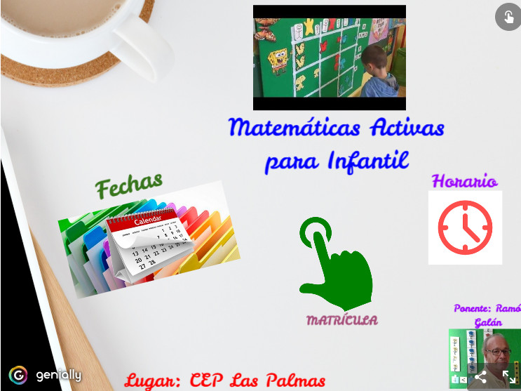 Curso Matemáticas Activas Para Infantil