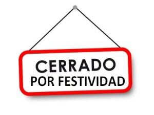 DÍA FESTIVO (1 DE NOVIEMBRE-FESTIVIDAD DE TODOS LOS SANTOS) |