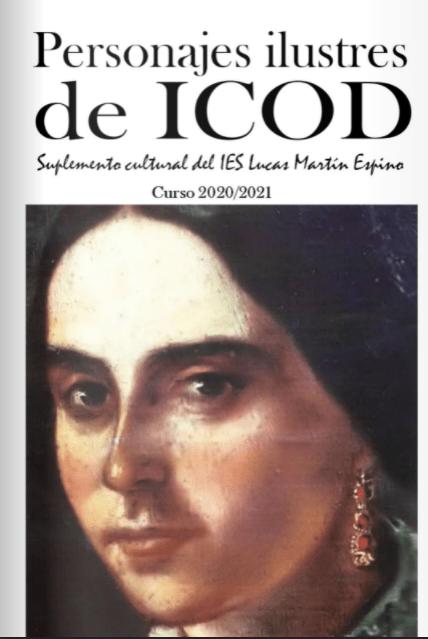 Personajes Ilustres de Icod. Suplemento cultural