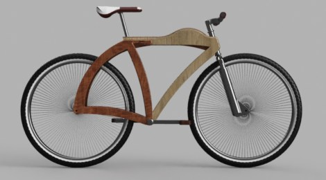 "Prototipo de bicicleta ""I FEEL WOOD"""