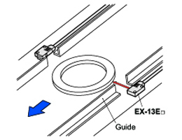 Ultra-slim Photoelectric Sensor EX-10 Ver.2 Applications