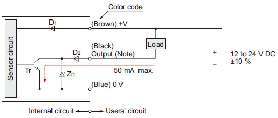 And For Light Switch With Motion Detector Wiring Diagram Amplifier Built In Ultra Slim Photoelectric Sensor Ex 10s