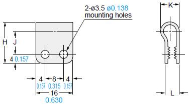 Compact Micro-size Inductive Proximity Sensor GS