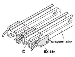 Ultra-slim Photoelectric Sensor EX-10 Ver.2 Applications