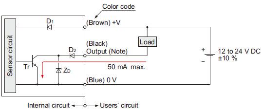 Amplifier Built In Ultra Slim Photoelectric Sensor EX 10S I O