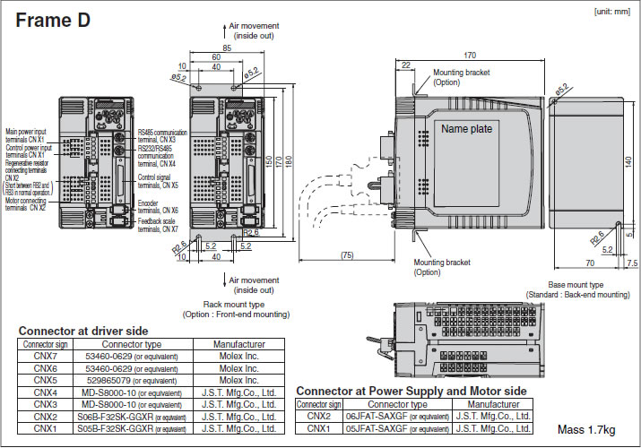 Panasonic mdddt5540 manual