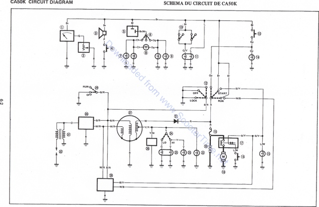 yamaha warrior wiring diagram vz binnacle gauge jog r best electrical circuit
