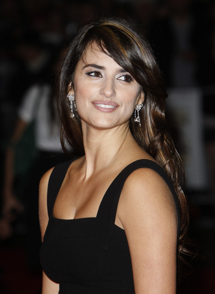 Penelope Cruz arriving at the Odeon West End for the London Premiere of