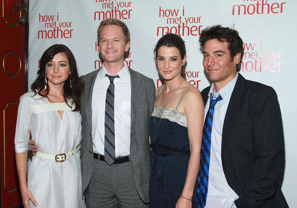 "Cobie Smulders and Josh Radnor - Academy Screening Of ""How I Met Your Mother"""