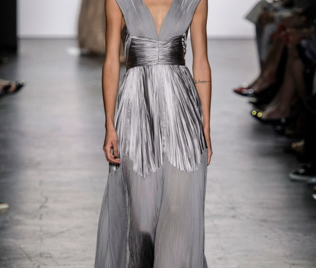 Dennis Basso Spring  The Most Beautiful Dresses At Nyfw Spring  Livingly