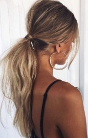 tousled ponytail - coolest