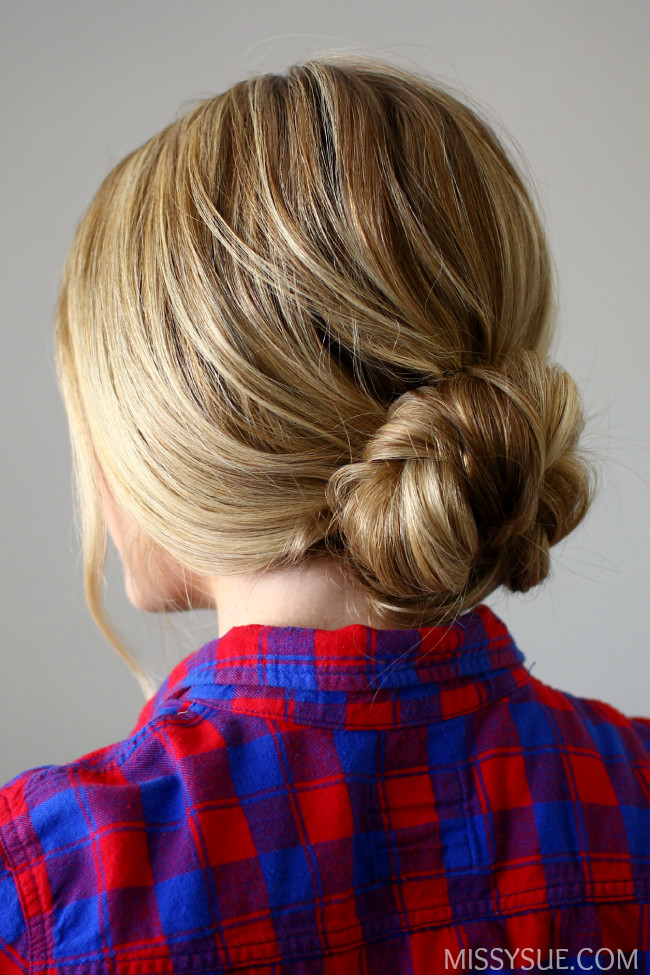 Quick and Easy Braided Bun  Easy Back to School Hairstyles to Let You Sleep In Later  Livingly