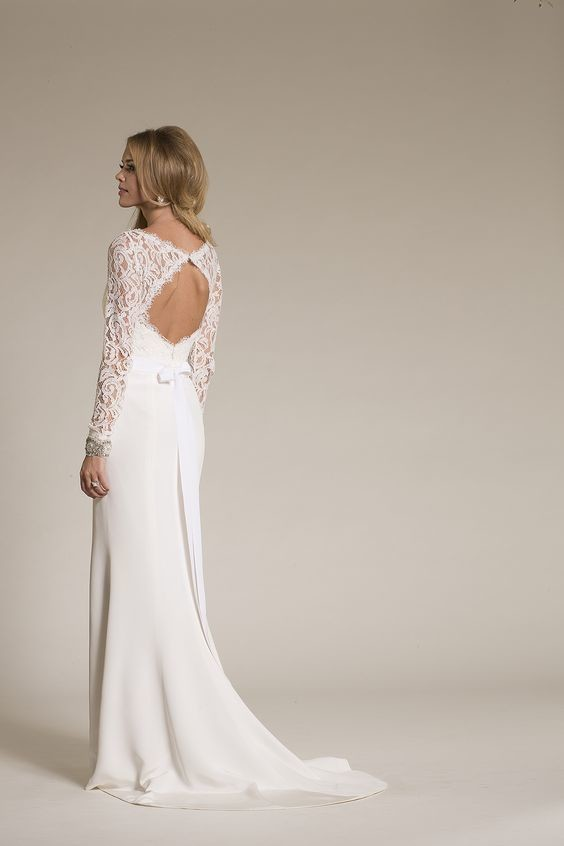 Lacey Long Sleeves  The Dreamiest Wedding Dresses with