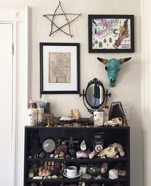 Sacred Space  Utterly Wicked Witch Ideas for Halloween  Livingly