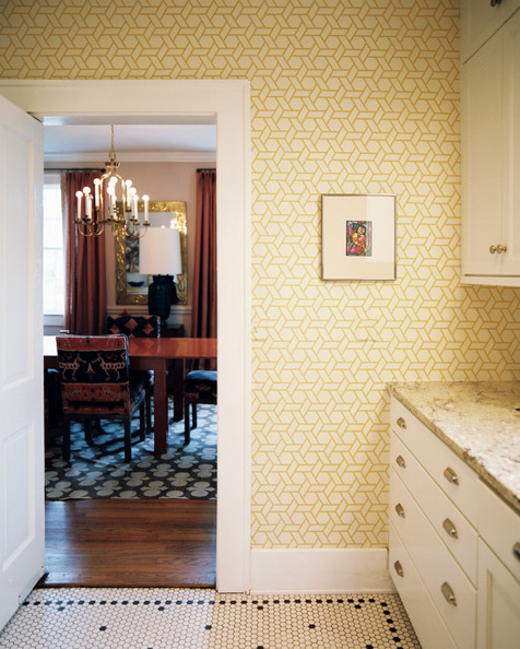 yellow kitchen wallpaper 2017
