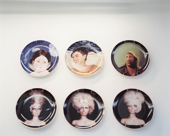 Fashion Italy Designer Fornasetti Decorative Hanging Plates Vasos Can Be Found In My For Home Dector 8 Inch 10 12