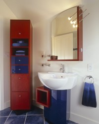red white and blue bathroom - 28 images - 10 chic ways to ...