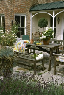 Country Patio - Outdoor Design Ideas Lonny