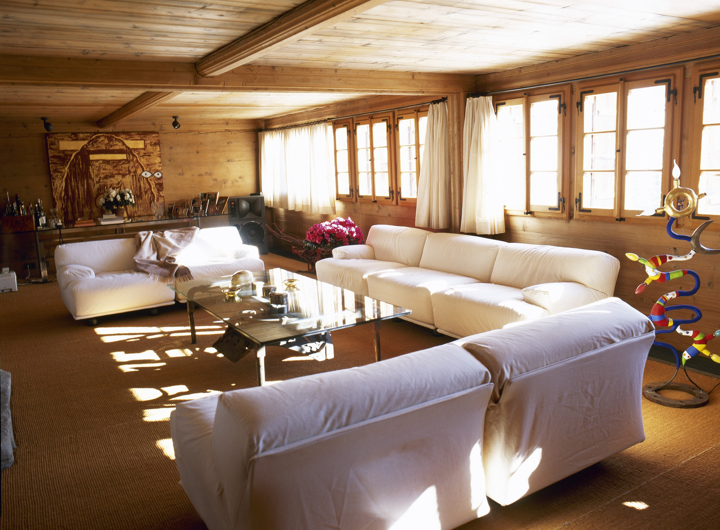White Country Living Room  Living Room Design Ideas  Lonny