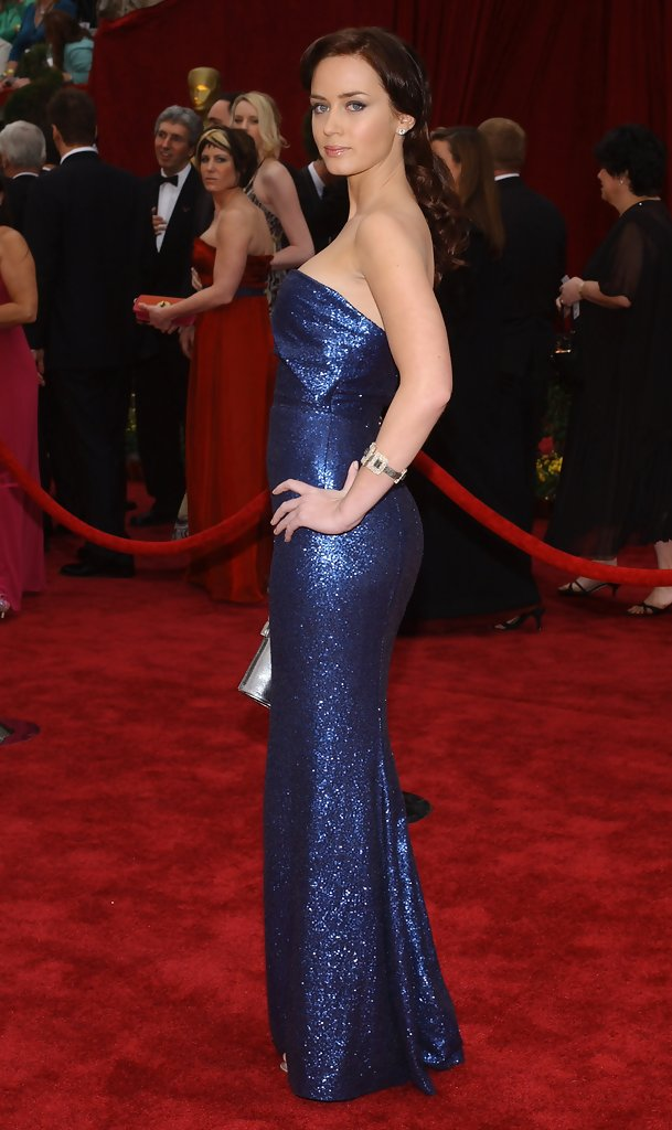 Emily Blunt 2007  The Best Oscar Dresses of All Time  StyleBistro