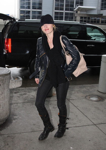Kate Winslet Motorcycle Boots  Kate Winslet Boots Looks  StyleBistro