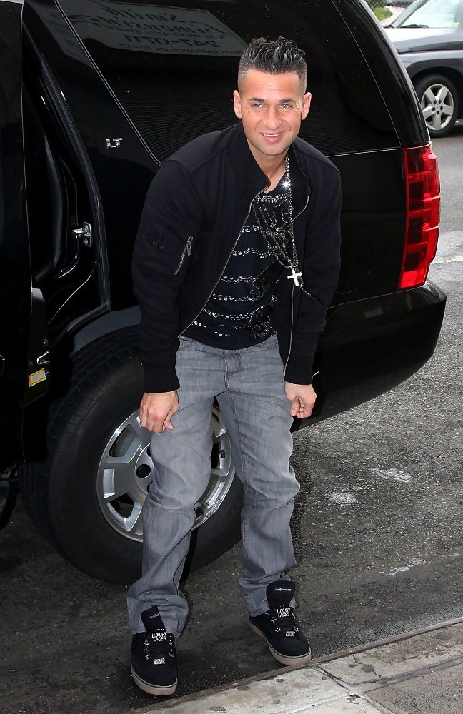 Mike Sorrentino Canvas Shoes  Mike Sorrentino Shoes Looks