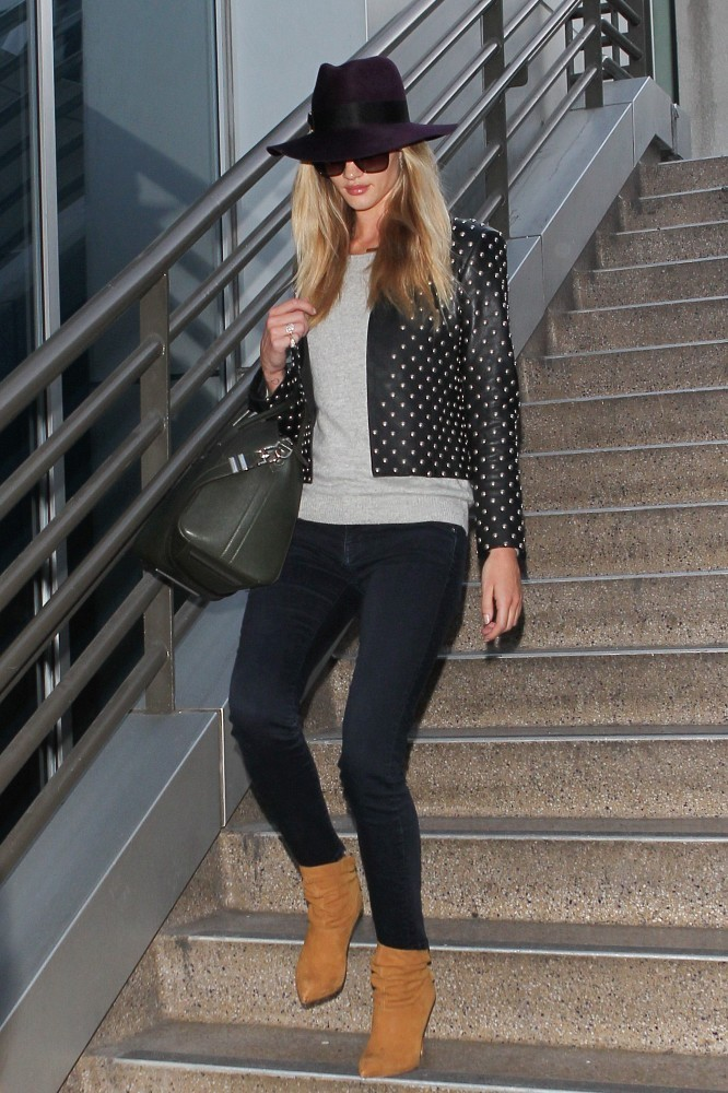 Rosie HuntingtonWhiteley Ankle Boots  Rosie Huntington