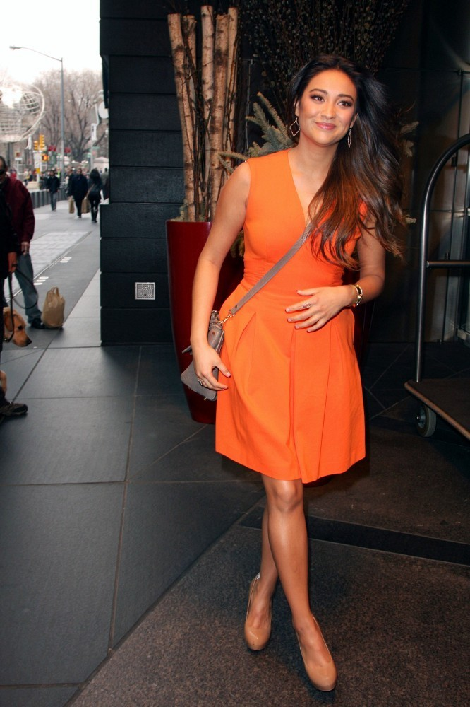 Shay Mitchell Cocktail Dress  Shay Mitchell Looks  StyleBistro