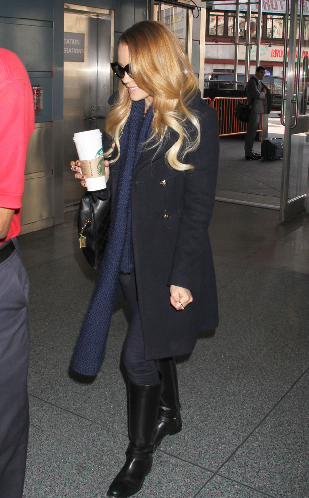 Lauren Conrad Knee High Boots Boots Lookbook StyleBistro
