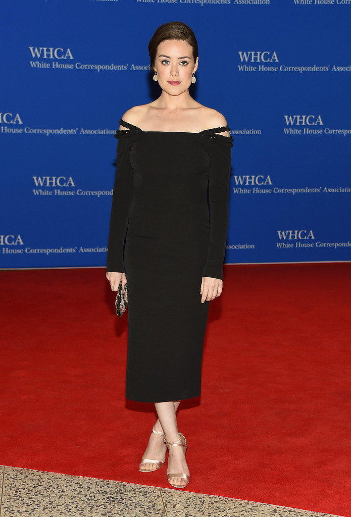 Megan Boone  The Best Looks from the White House Correspondents Dinner 2015  StyleBistro
