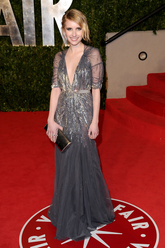 Emma Roberts In Jenny Packham Best And Worst Dressed At