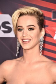 flipped pixie cut - katy perry's