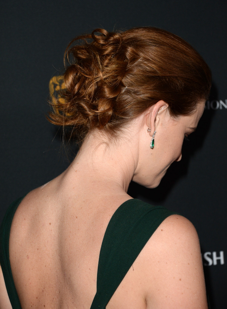 Alice Eve Pinned Up Ringlets  Alice Eve Looks  StyleBistro