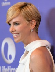 pics of charlize theron side