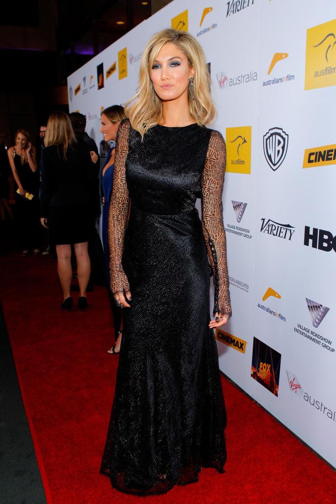 Delta Goodrem Evening Dress  Delta Goodrem Looks
