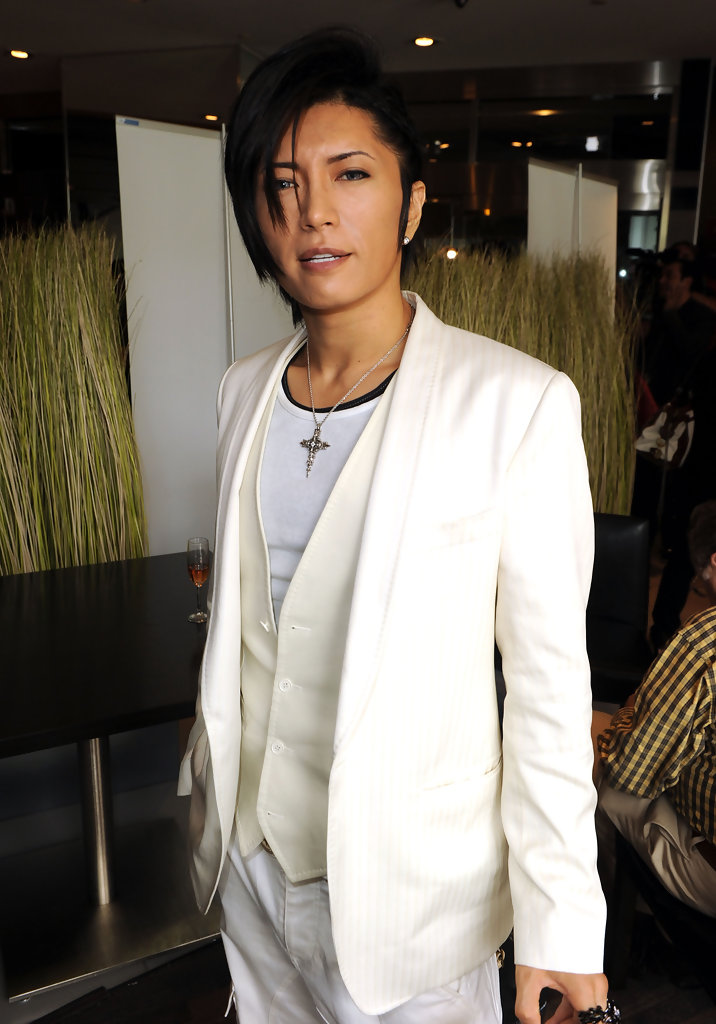 Gackt Camui Side Parted Straight Cut Gackt Camui Looks