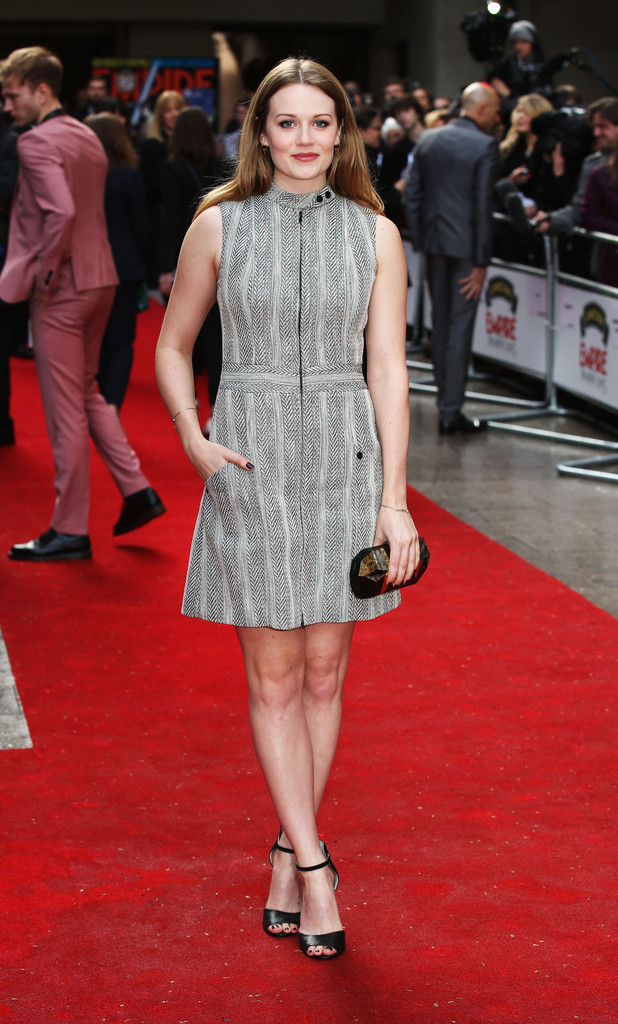 Cara Theobold  What the Celebs Wore to the Jameson Empire