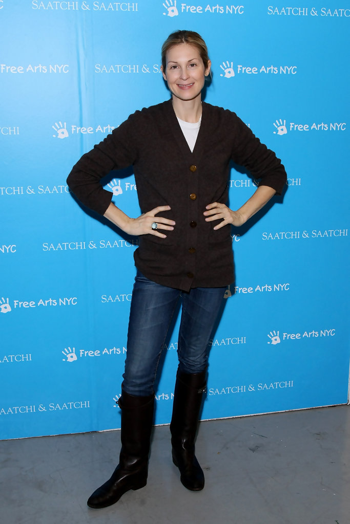 Kelly Rutherford Flat Boots  Kelly Rutherford Boots Looks  StyleBistro