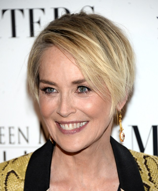 more pics of sharon stone layered razor cut (15 of 23