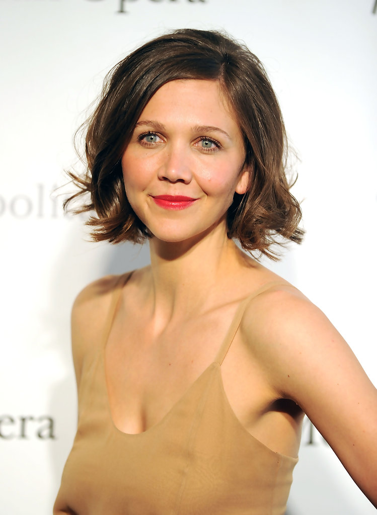 Maggie Gyllenhaal Hairstyles For Round Faces StyleBistro