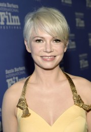 michelle williams messy cut - short